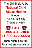 National Child Abuse Hotline